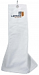 100% cotton velour finish golf towel with carabiner #RushExpress72hrs