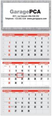 3-Month Planner Calendars - EUROPA 3-MONTH PLANNER