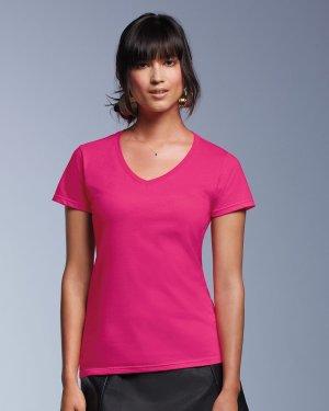 Anvil - 88VL - Women's CRS Fashion V-Neck Tee - 100% Cotton