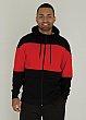 ATC - F2008 - Pro Fleece Full Zip Colour Block Hooded Sweatshirt