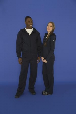ATC - F221 - Ptech Fleece Hooded Jacket - 100% poly