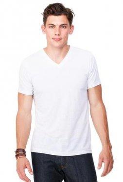Bella+Canvas - 3005 - Unisex V-Neck Jersey T-Shirt - 100% Cotton
