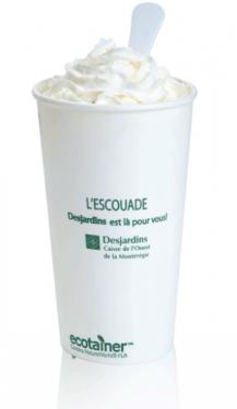 Biodegradable Paper Cups - 20 oz.