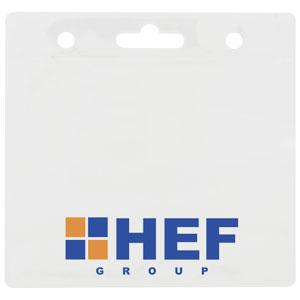 Blank Clear Badge Holders