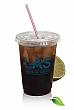 Clear Plastic Cups - 10oz. BIO clear, soft sided