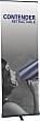 Contender Mini - 23.5 x 77.5 - Retractable Banner Stand