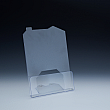Counter Brochure Holder up to 8-1/2 width - house model - 1 pocket -  8-1/2 W x 1 D - Clear