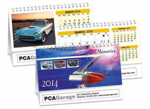 Desk Calendars - MEMORIES - DOUBLE VIEW®