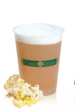 Frosted Plastic Cups - 14oz frosted, soft sided