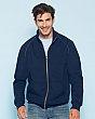 Gildan 92900 - Fleece full zip premium cotton - 75/25