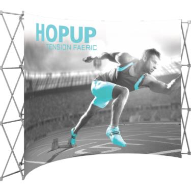 HopUp - Curved 5x3 - 13' (147,5 x 89,5)