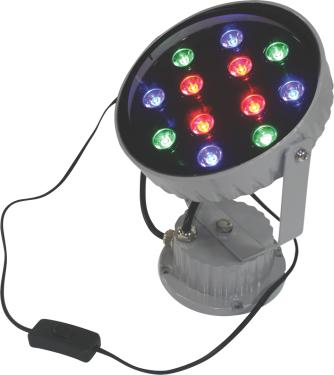 LED Blast Light - Accent light for exposition - RGB