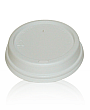 Lids for Paper Cups - 8oz white dome lid
