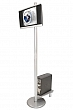 Linear Monitor Kiosk Kits 01 - Choice of tabletop finish with case