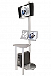 Linear Monitor Kiosk Kits 02 - Choice of tabletop finish with case