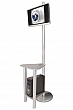 Linear Monitor Kiosk Kits 04 - Choice of tabletop finish with case