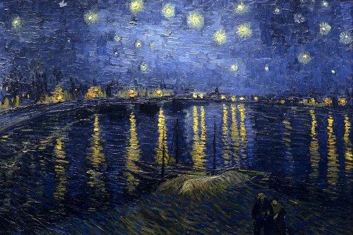 Nuit étoilée sur le Rhône (Starry Night over the Rhone) par Vincent van Gogh