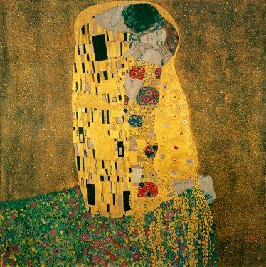 The Kiss (Le Baiser) par Gustav Klimt