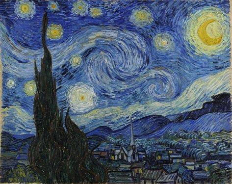 La Nuit étoilée (The Starry Night) par Vincent van Gogh