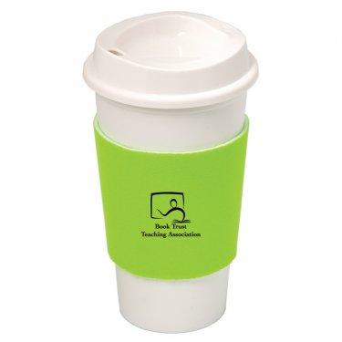 NYC PLASTIC CUP WITH NEOPRENE SLEEVE