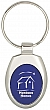 Oval colored metal key tag #RushExpress72hrs