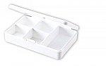 Pill box, 5 compartments