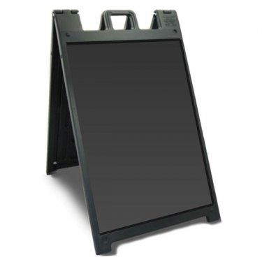 Plasticade - Signicade Deluxe  - 24 W x 36 H - Black