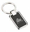 Rectangular chrome & black key holder #RushExpress72hrs
