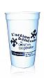 Reusable Plastic Cups - 16 oz. / White/Stadium