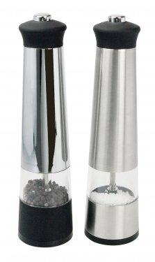 Salt and pepper grinder set in case #RushExpress72hrs