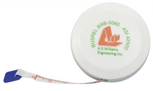 Tape measure 1.5 m/60 fibreglass