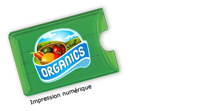 Translucent card holder (4 colors process)