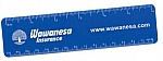 Translucent Rulers - 1.625 x 12.375 - 1 Color Printed - 4/0