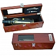 TWO PIECE ROSEWOOD WINE KIT