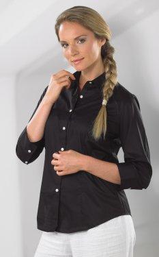 VanHeusen 18CV527 - Lady 3/4 Twill Dress Shirt - 60/40