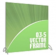 Vector Frames - 70 x 70w Square frame (03) - With OCS case