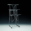 Wire Brochure Holder up to 8,5 Width - Metal - 3 pockets