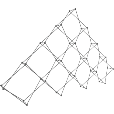 XCLAIM 10 Quad Pyramid - Display frame only