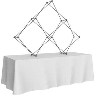 XCLAIM 3 Quad Pyramid - Display frame only