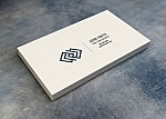 Business Card - 13pt - Linen Uncoated