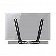 Stands Audio/Video - Wall Mount Speaker Brackets - Universal Soundbar Bracket - VESA - Black