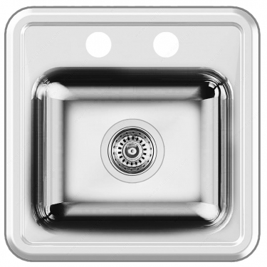 Blanco Sink - Horizon Bar - 14-15/16 x 14-15/16