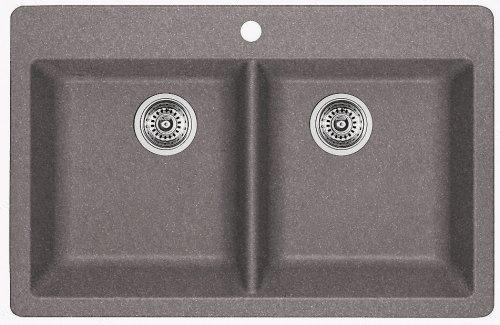 Blanco Sink - Horizon Silgranit 2 - Metallic Gray