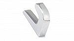 Contemporary Metal Hook - 2333 - Chrome