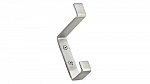 Utility Metal Hook - 36 - Brushed Nickel