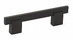 Contemporary Metal and Aluminum Pull - 905 - 96 mm - Matte Black