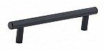 Contemporary Metal Pull - 205 - 128 mm - Matte Black