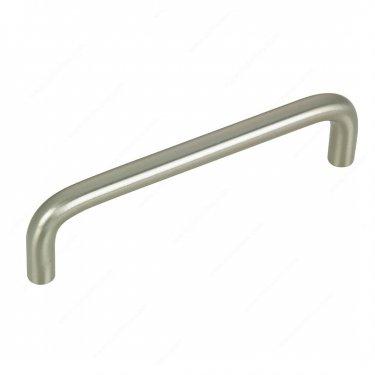 Functional Steel Pull - 332 - 96 mm - Brushed Nickel