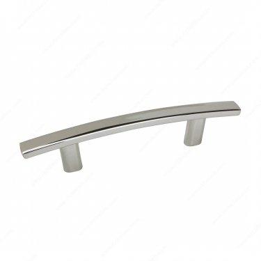 Transitional Metal Pull - 650 - 3 - Polished Nickel