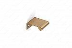 Contemporary Metal Edge Pull - 9696 - 25 mm - Champagne bronze
